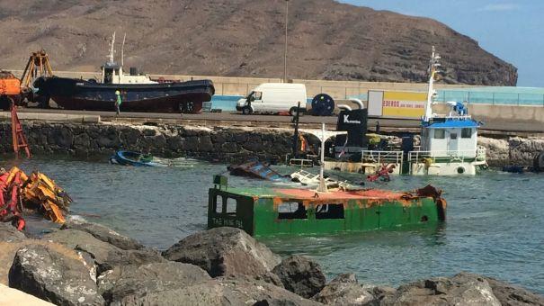 Rebajan a alerta la situación en el Puerto de Gran Tarajal